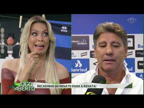 Renato Gaúcho manda recado para Renata Fan