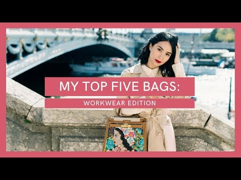 MY TOP 5 FAVORITE BAGS: WORKWEAR EDITION | Heart Evangelista