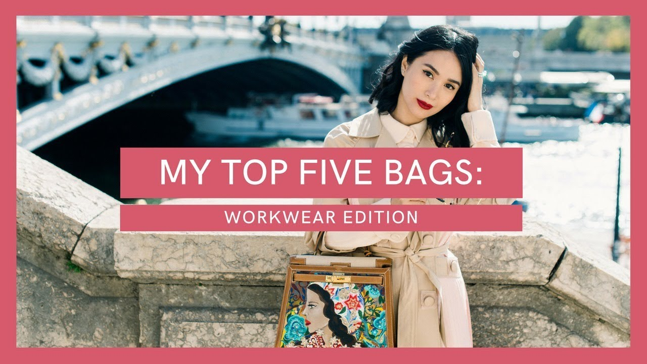 660b79d661 MY TOP 5 FAVORITE BAGS: WORKWEAR EDITION | Heart Evangelista - YouTube