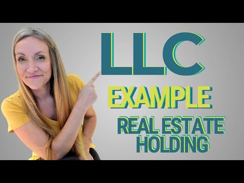 What Is A Holding Company? - Holding Company LLC & Real Estate Example