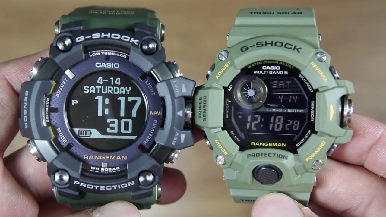 CASIO G-SHOCK RANGEMAN GPR-B1000-1B VS RANGEMAN GW-9400-3 - YouTube 2c3590d098