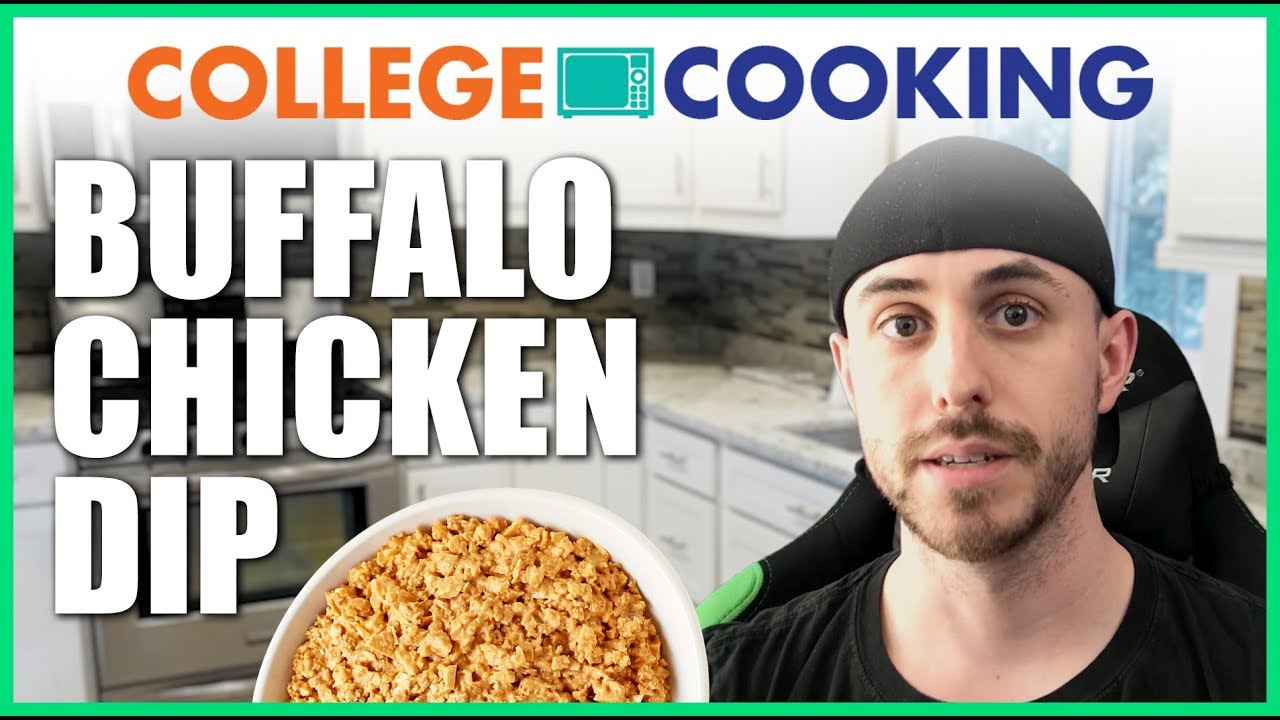 how to make buffalo chicken dip in the microwave college cooking collegexpress
