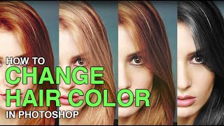 How to Change Hair Color in Photoshop(OUR #1 PRO TUTORIAL EVER IS NOW ON SALE! https://phlearn.com/product/photoshop-101-301 Changing Hair Color in Photoshop There are many reasons ..., 2014-07-03T18:54:00.000Z)