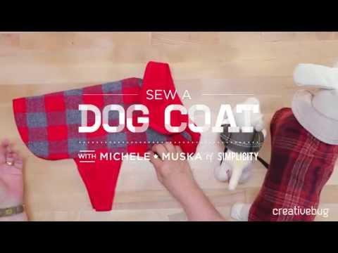 Make a Dog Coat with Simplicity + Creativebug