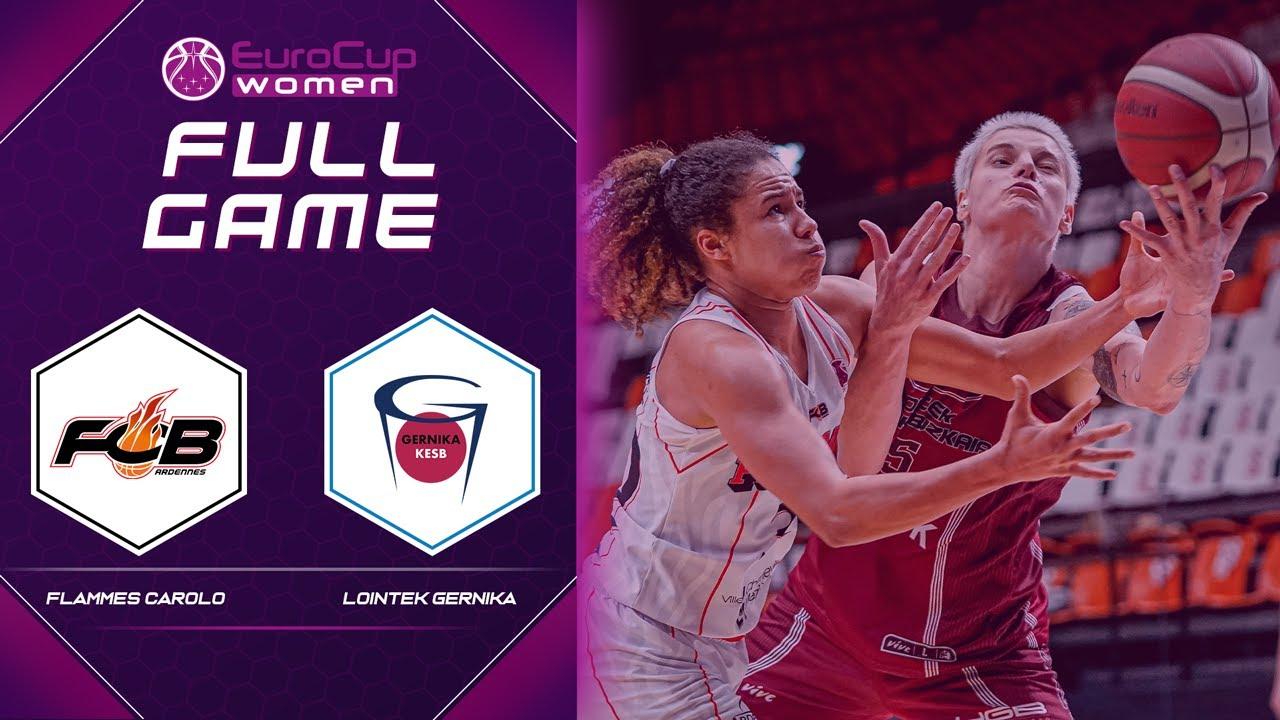 Carolo Basket v Lointek Gernika Bizkaia | Full Game - EuroCup Women 2020-21
