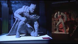 Бэтмена собрали по кусочкам  в Лондоне проходит выставка сделанных из Lego супергероев
