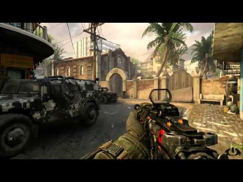 Black Ops 2 Multiplayer Hardcore Free-For-All Gameplay (SLUMS) Online Commentary COD 1080p HD