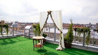 Свадебная арка, свадебная флористика, букет невесты, бутоньерка. luademel.ru(, 2014-08-27T17:08:41.000Z)