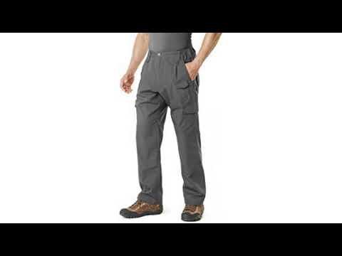CQR CQ-TXP401-CYT/_36W//34L Men/'s Outdoor Adventure Rugged Pants Hiking Camping