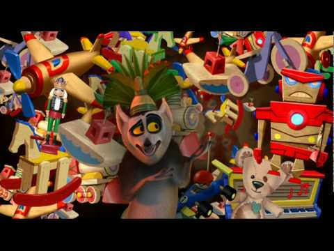 King Julien Santa Claus is Coming to Madagascar Music Vid