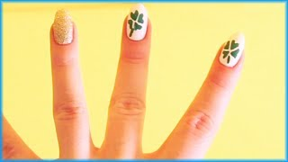 Best Nail Art Tutorial For Saint Patrick