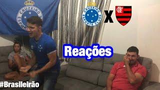 CRUZEIRO 1x2 FLAMENGO (Brasileirão 2019 / Reações)