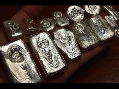 Unboxing Amazing Poured Bars from Redwood & M&R Precious Metals!