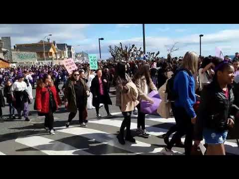 Foz congregou a miles de mulleres nunha gran manifestación