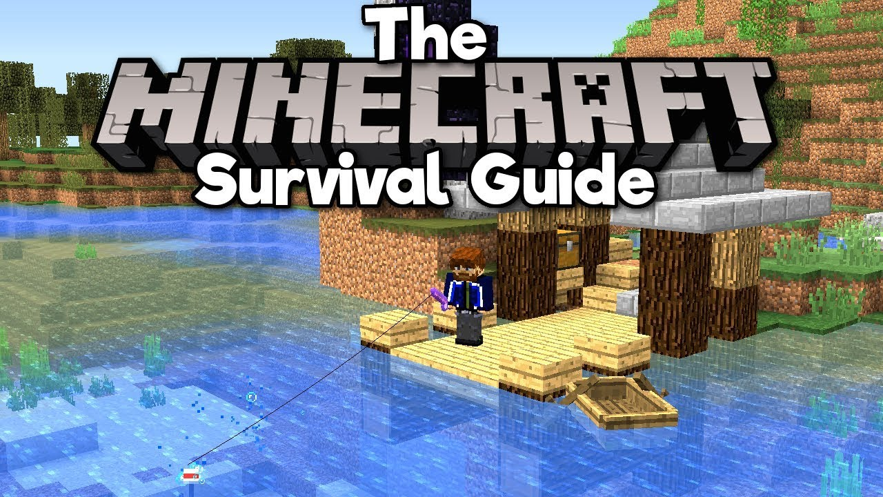 Introduction to Fishing! ▫ The Minecraft Survival Guide (1.13 Tutorial Lets Play) [Part 15]