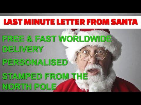 Last Minute Letter from Santa thumbnail