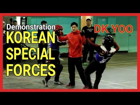 Systema Demonstartion on Korean Special Forces