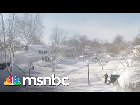 Shocking Snow Images From Buffalo, NY | msnbc