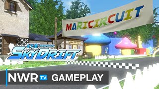 16 Minutes of Gensou Skydrift (from former Mario Kart developers) on Nintendo Switch