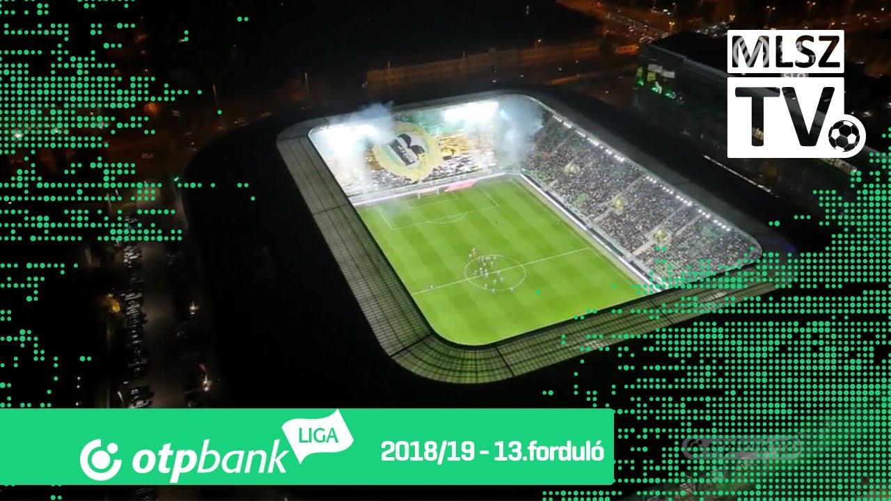 Ferencvárosi TC - MTK Budapest | 2-0 (2-0) | OTP Bank Liga | 13. forduló | 2018/2019