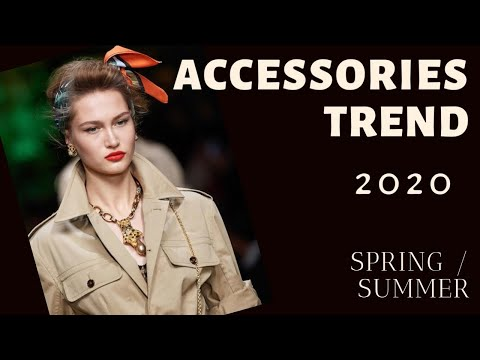 TOP ACCESSORY TRENDS Spring summer 2020 | fashion trends 2020 lookbook | Red Fashion Chic. Http://Bit.Ly/2GPkyb3