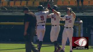 #ABLSF GAME THREE | Chris Clare nails his first home run in Heat colours