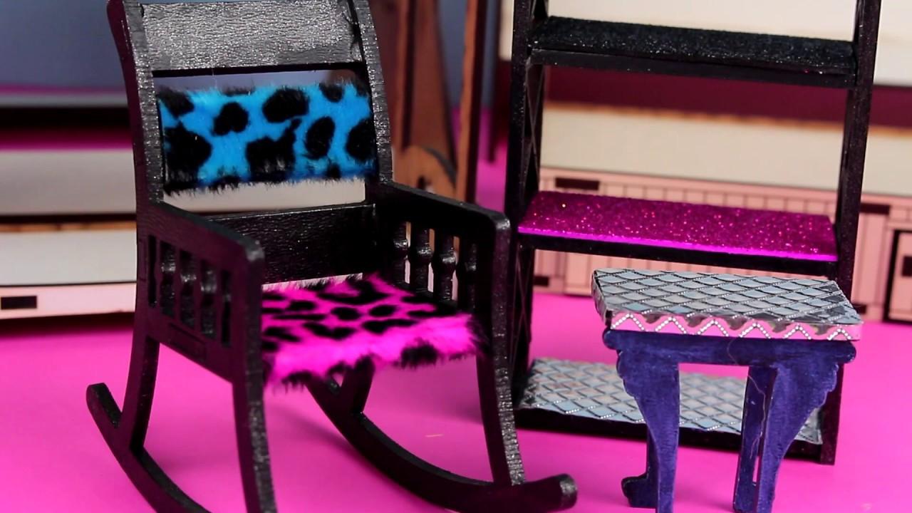 DIY LOL Surprise 🛏️ Pościel dla laleczek & pufa z nakrętki 🪑 Toys Land