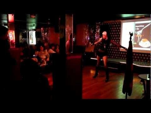 Transgender Lady Gaga karaoke in Las Vegas