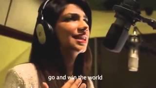 FIFA 2014 song by vijay tv bhavana
