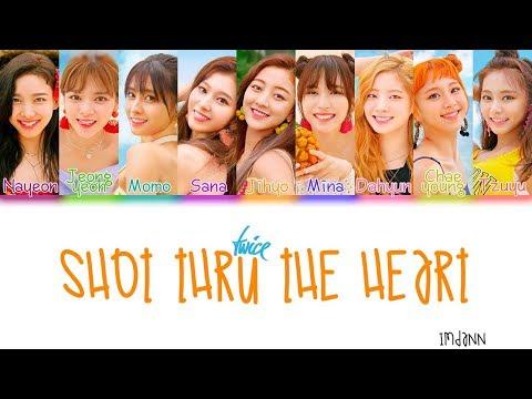 TWICE - Shot Thru The Heart |Sub. Español + Color Coded| (HAN/ROM/ESP)
