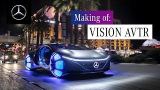 Making of: Mercedes-Benz VISION AVTR