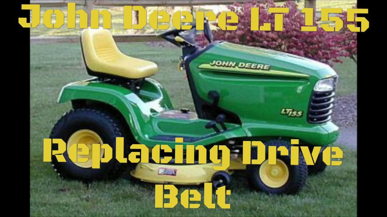 John Deere Lt133 Drive Belt Diagram