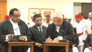 Four Judges take oath at Gujarat High Court