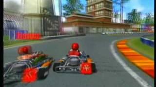 Whip Ass Gaming: Furious Karting - Atari Logo, Attract Mode
