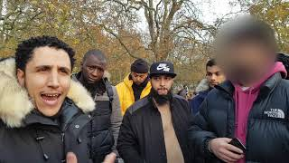 Sincere Shia Questions Answered! Shamsi & Shia Visitor Speaker's Corner Hyde Park