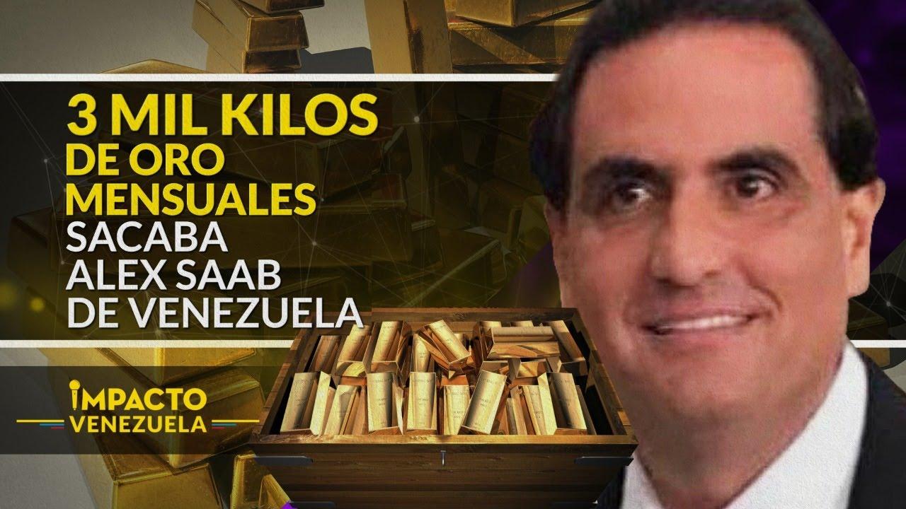 #Exclusivo ¡REVELADOR! Alex Saab movía así miles de kilos de oro venezolano | Impacto Venezuela