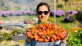 Что будет если добавить Морковь к Ракам????!!!Раки по Саратовски!!!Вкусный рецепт!!!