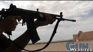 Shooting Galil / Golani (Israeli AK47)
