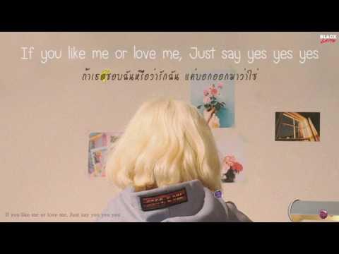 [Karaoke Thaisub] Tell Me You Love Me (좋다고말해) - 볼빨간사춘기 (Bolbbalgan4)