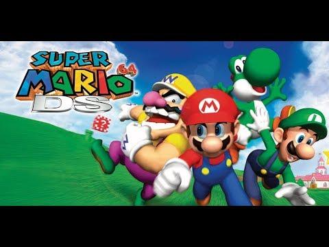 Let's Play: Super Mario 64 DS (Longplay)