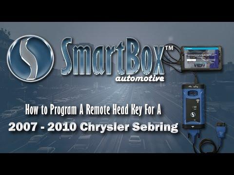 How to Program a Remote Head Key to a 2007 - 2010 Chrysler Sebring