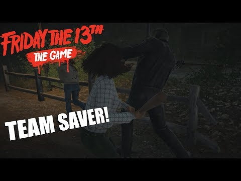 Friday The 13th: The Game Counselor GAMEPLAY | TEAM SAVER!