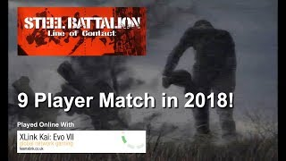 Steel Battalion: Line of Contact - 9 Player Conquest 2018 | XLink Kai