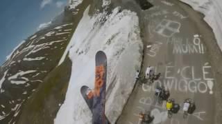 �������� ���� Безбашеная езда лыжника от 1го лица!!! ������