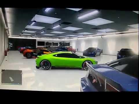 Gta v online posizionare veicoli di lusso nel garage for Disegni di addizione garage