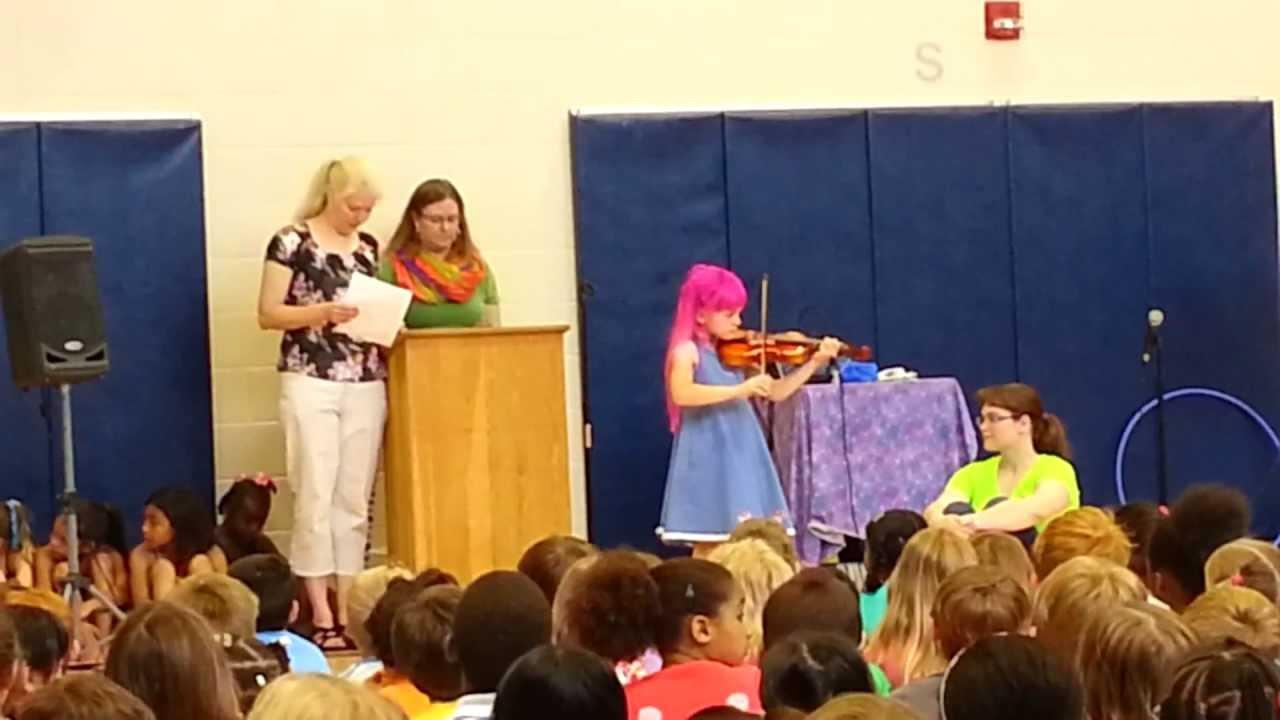 School Talent Show 1st Grade Age 7 Youtube