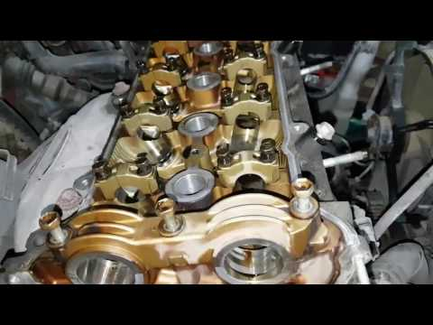 Фото к видео: Toyota Corolla 1.4 VVT-i 4ZZ-FE Removing the engine