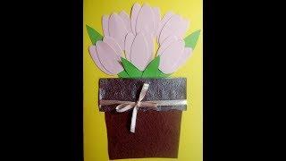 cách làm thiệp Cách làm thiệp 20 - 10 không đụng hàng - Happy Mother's Day - Tự làm thiệp chúc mừng mẹ