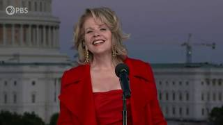 """Renée Fleming performs """"Wind Beneath My Wings"""" on the 2020 National Memorial Day Concert."""