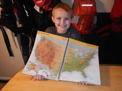 Geological Features on Maps